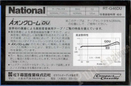 National G DU 1985 JAP 46 2