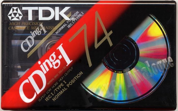 TDK CDing1 (1992) US