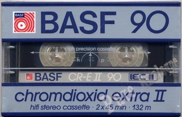 Basf Chromdioxid Extra II (1985) EUR