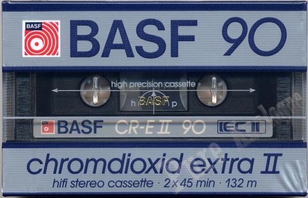 Basf Chromdioxid Extra II (1986) EUR