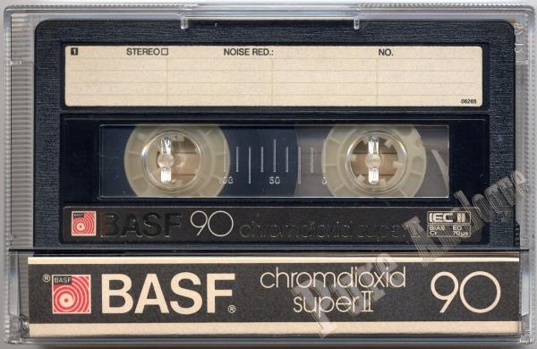 BASF Chromdioxid II Super (1982) EUR