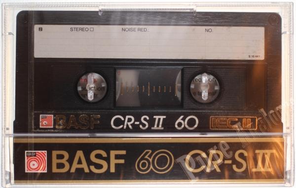 Basf CR-S II (1986) EUR