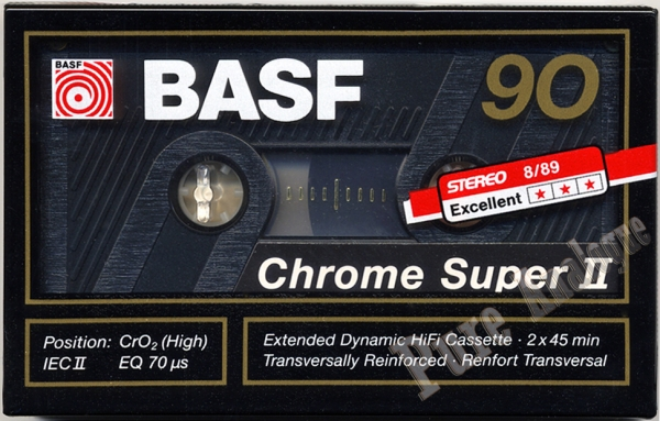Basf Chrome Super II (1989) EUR