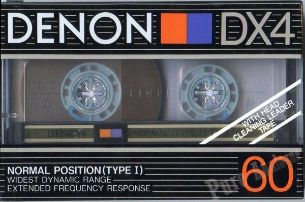 Denon DX4 (1985) EUR