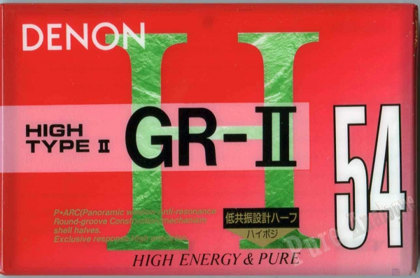 Denon GR-II (1993) JAP
