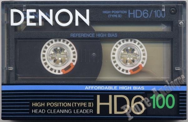 Denon HD6 (1988) EUR