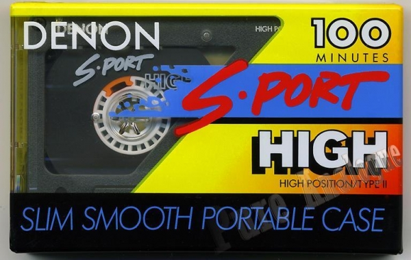 Denon S-Port High (1992) EUR/US