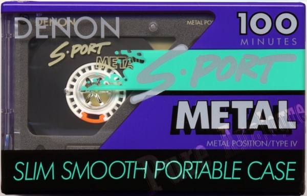 Denon S-Port Metal (1992) EUR/US