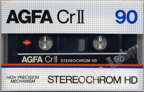 AGFA CrII STEREOCHROM HD (1982) EUR