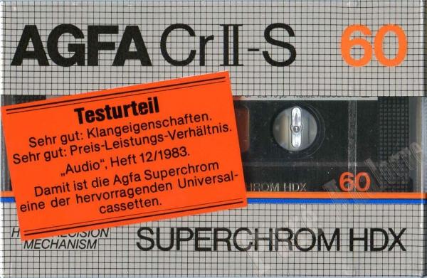 AGFA CrII-S SUPERCHROM HDX (1982) EUR