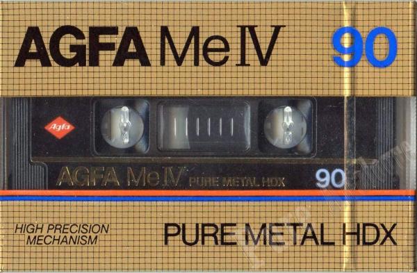 AGFA MeIV Pure Metal HDX (1982) EUR