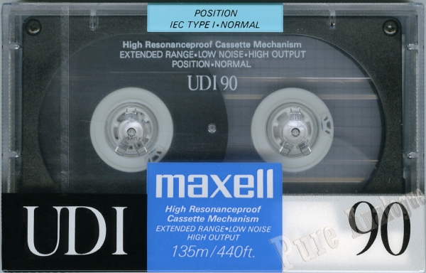 Maxell UD I (1991) EUR