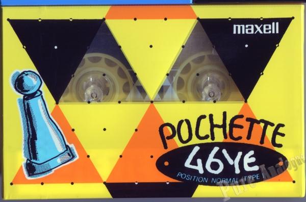 Maxell Pochette YE (1989) JAP