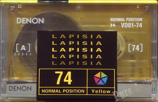 Denon Lapisia Yellow (1997) Japan