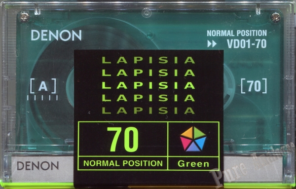 Denon Lapisia Green (1997) Japan