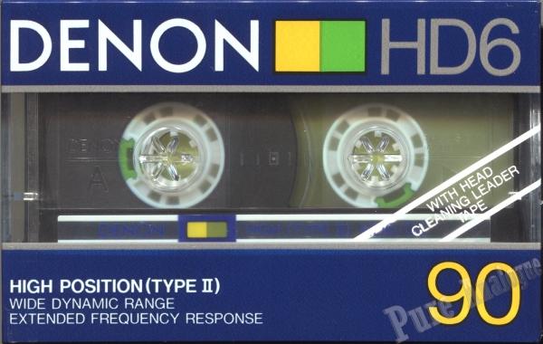 Denon HD6 (1985) EUR