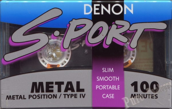 Denon S-Port Metal (1990) US