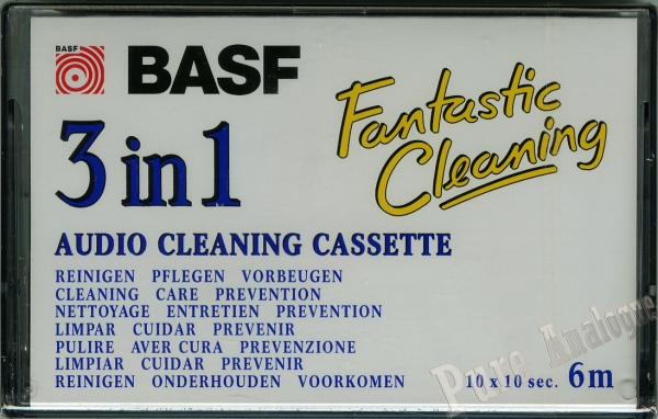 Basf Cleaning Cassette (1995) EUR