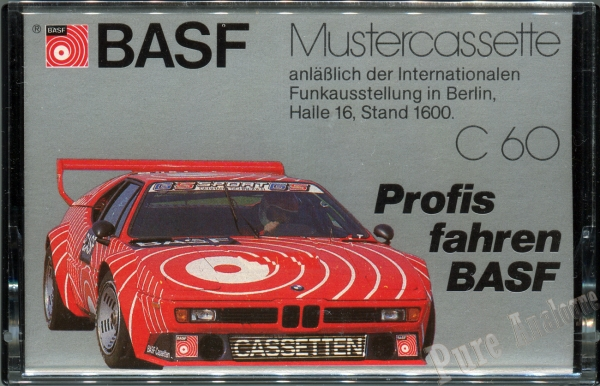 BASF Chromdioxid II Super (1981) EUR