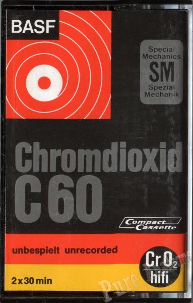 Basf Chromdioxid (1971) EUR