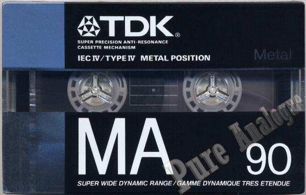 TDK MA (1988) US