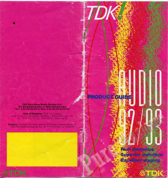 TDK 1992
