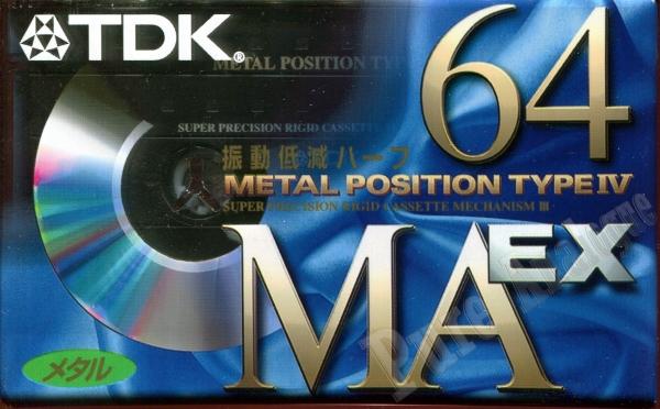 TDK MA-EX (1998) JAP