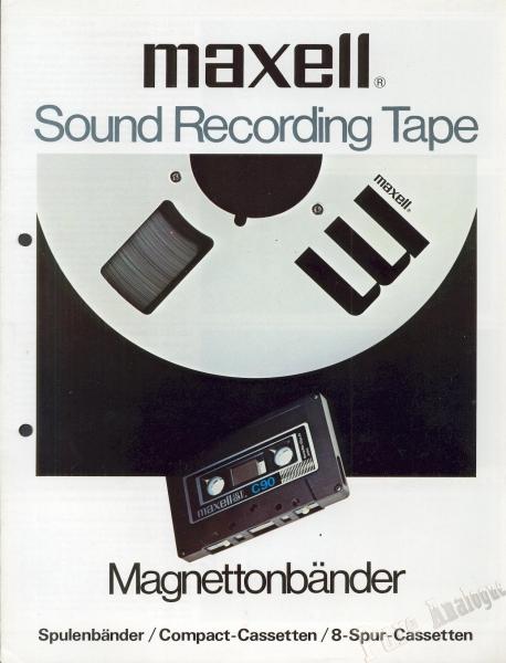 Maxell 1976 (Reels)