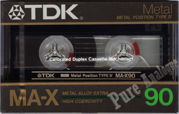 TDK MA-X (1985) JAP