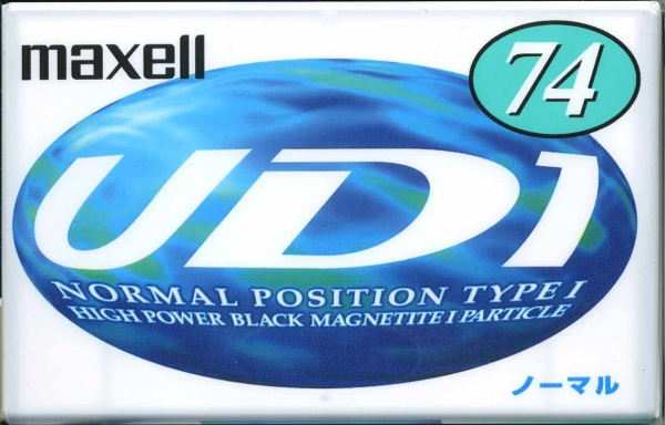 Maxell UD I (1997) JAP