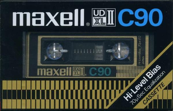 Maxell UDXL II (1977) EUR