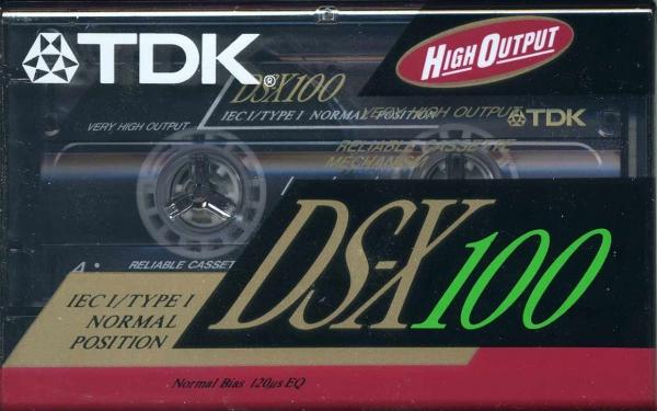 TDK DS-X (1991) US