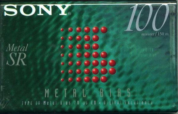 Sony Metal-SR (1996) US