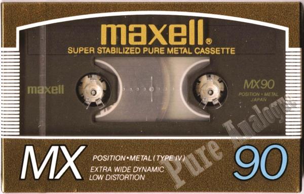 Maxell MX (1985) JAP