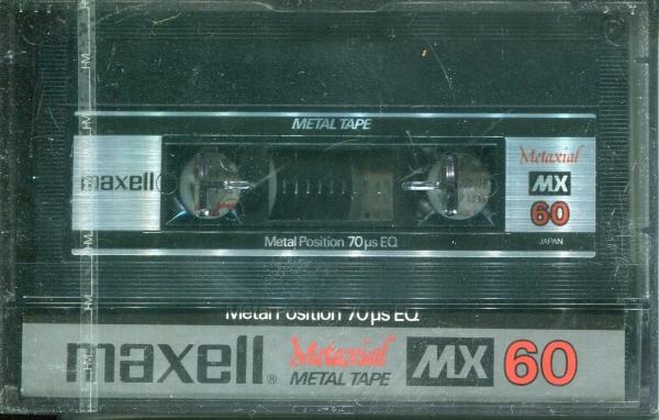 Maxell MX (1982) JAP