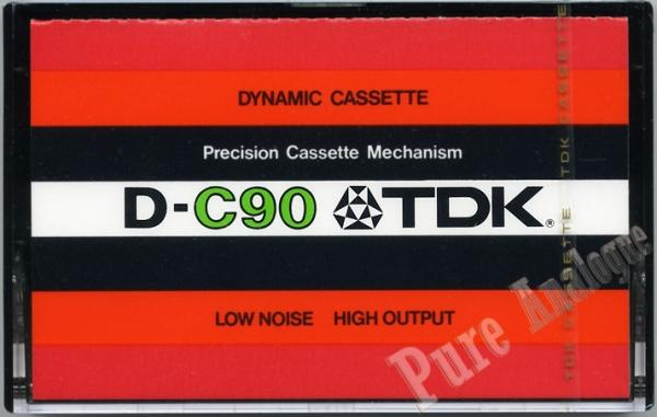 TDK D (1973) EUR