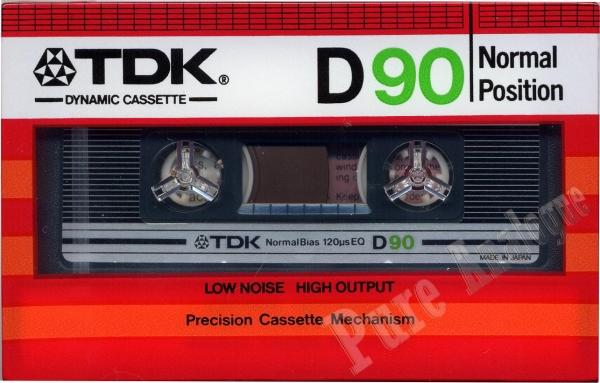 TDK D (1982) EUR