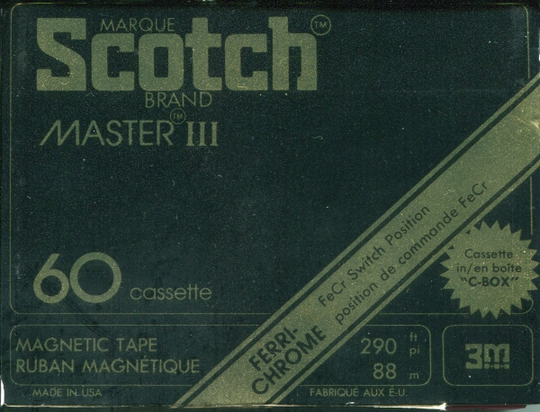 Scotch Master III (1979) US