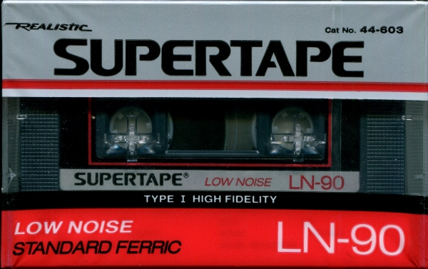 Realistic Supertape LN (1988) US