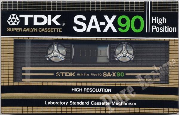 TDK SA-X (1982) EUR