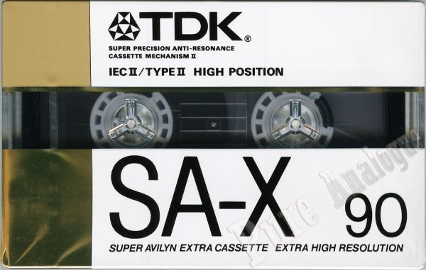 TDK SA-X (1988) EUR