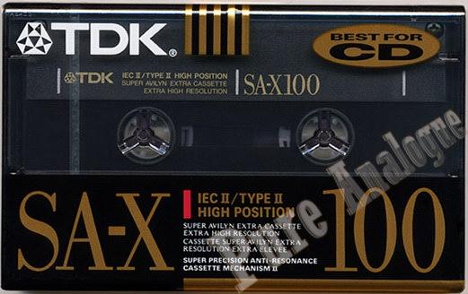 TDK SA-X (1991) US