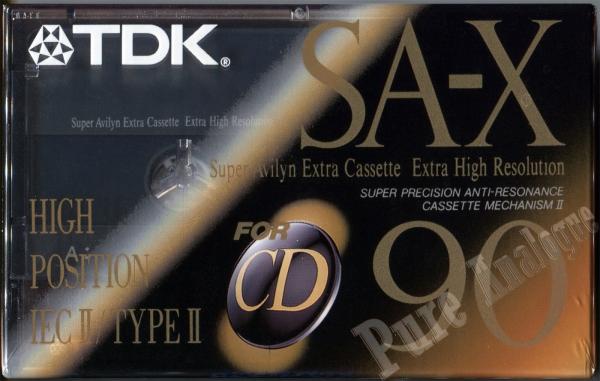 TDK SA-X (1992) EUR