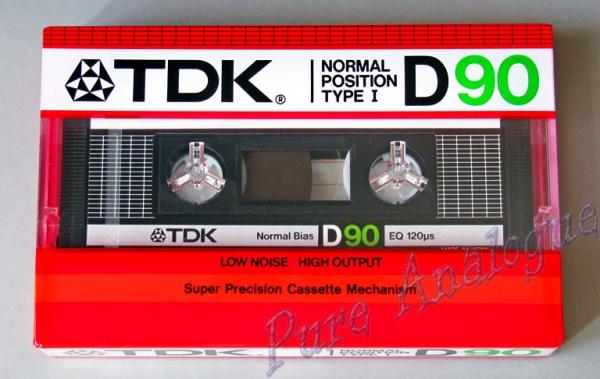 TDK D (1985) EUR