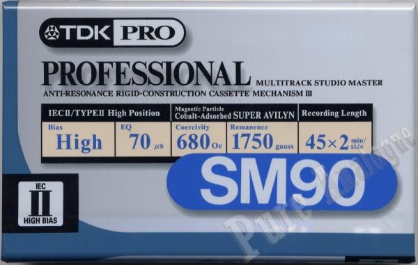 TDK SM (1996) US