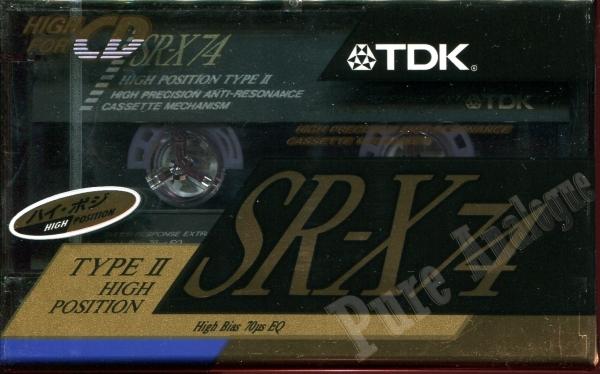 TDK SR-X (1991) JAP