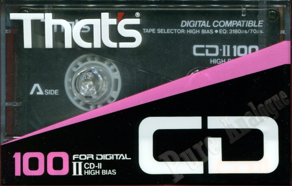 That's CD-II (1989) US