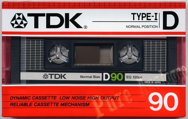 TDK D (1986) EUR