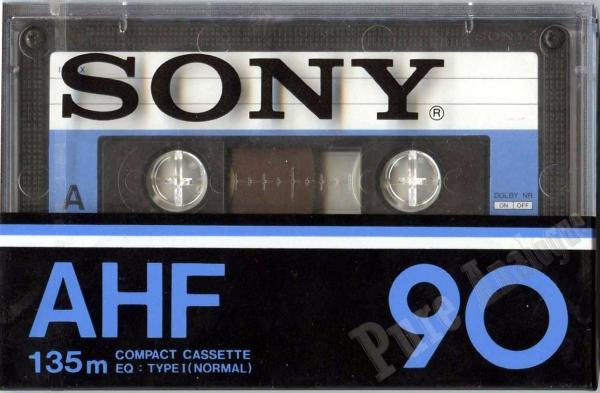 Sony AHF (1978) EUR