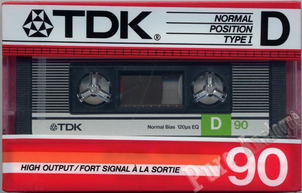 TDK D (1986) US